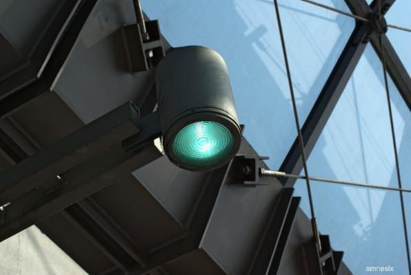 l'œilde la gare de Spandau ...