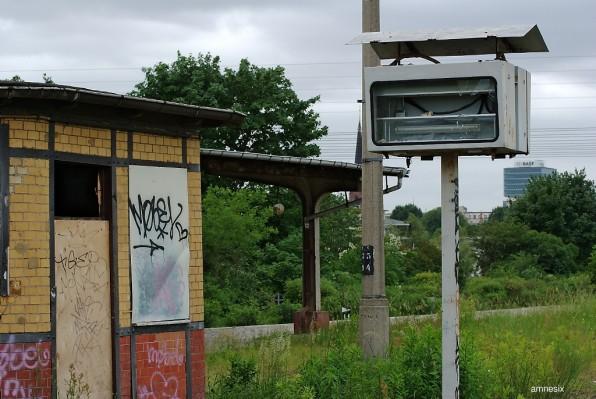 Quai désaffecté de la gare de Ostkreuz