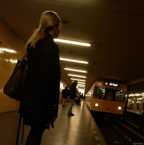 Attendre ... station Seestraße