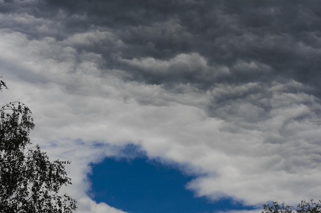 Le ciel du Brandenbourg